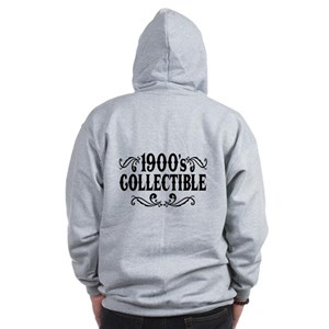 1900's Collectible Birthday Zip Hoodie