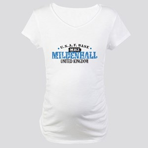 Mildenhall Air Force Base Maternity T-Shirt