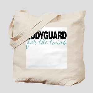 Bodyguard for the twins Tote Bag