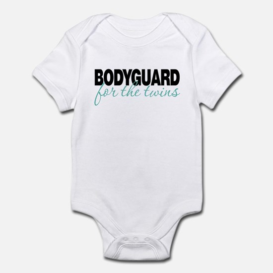 Bodyguard for the twins Infant Bodysuit