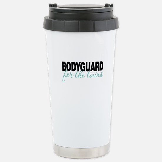 Bodyguard for the twins Stainless Steel Travel Mug