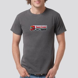 Truck Driver Season Greetings Tractor Truc T-Shirt