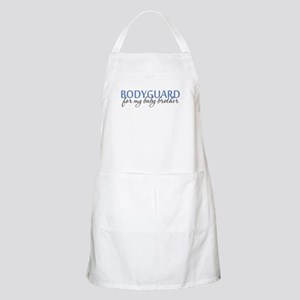 Bodyguard for my Baby Brother BBQ Apron