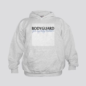 Bodyguard for my baby brother Kids Hoodie