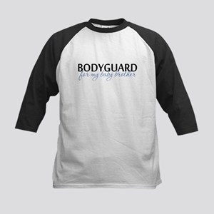 Bodyguard for my baby brother Kids Baseball Jersey