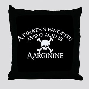 Aarginine Throw Pillow