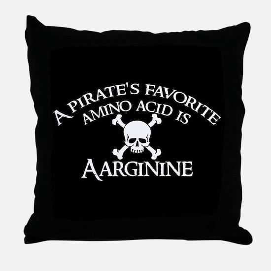 Aarginine Throw Pillow