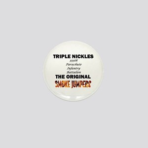 Triple Nickles Mini Button