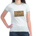 gone muff divin Jr. Ringer T-Shirt