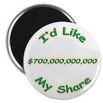 "My Share 700 Billion 2.25"" Magnet (10 pack)"