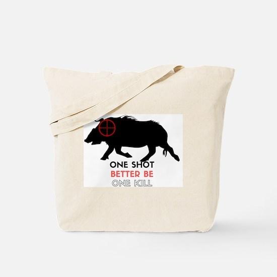 Unique Wild hog hunting Tote Bag