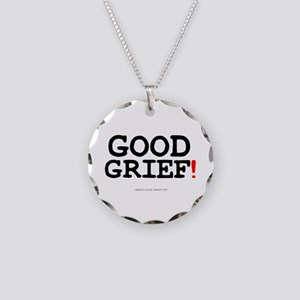 GOOD GRIEF! Necklace Circle Charm
