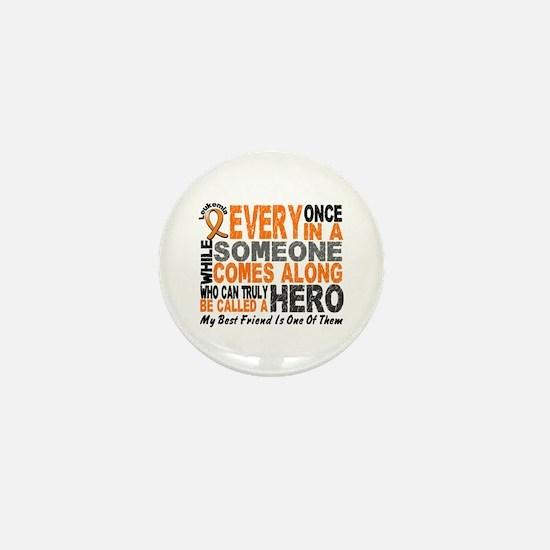 HERO Comes Along 1 Best Friend LEUK Mini Button