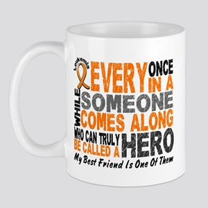 HERO Comes Along 1 Best Friend LEUK Mug