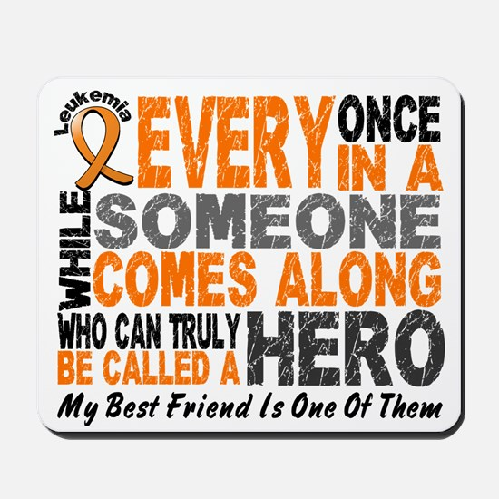 HERO Comes Along 1 Best Friend LEUK Mousepad