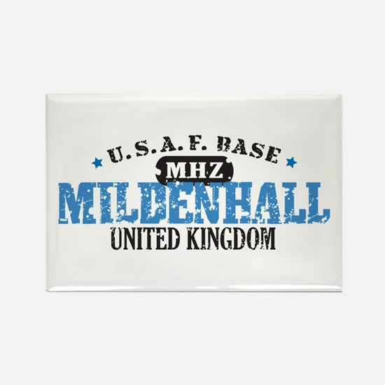 Mildenhall Air Force Base Rectangle Magnet