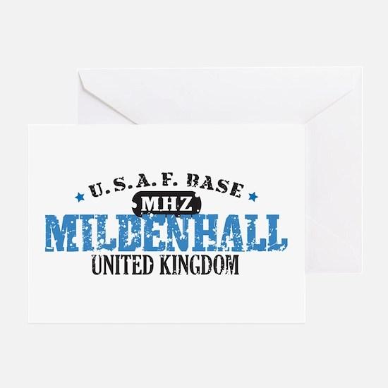Mildenhall Air Force Base Greeting Card