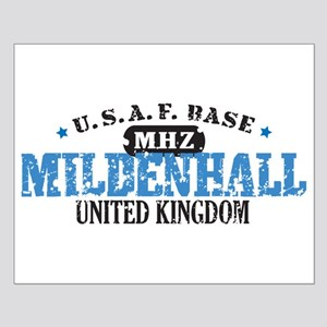 Mildenhall Air Force Base Small Poster