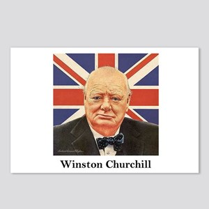 """""""Winston Churchill"""" Postcards (Package of 8)"""