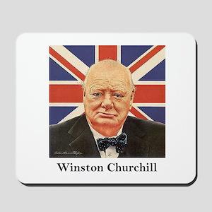"""Winston Churchill"" Mousepad"