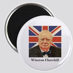 """Winston Churchill"" Magnet"
