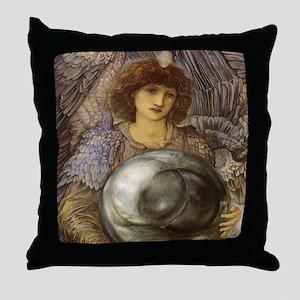Days of Creation by Burne Jones Throw Pillow