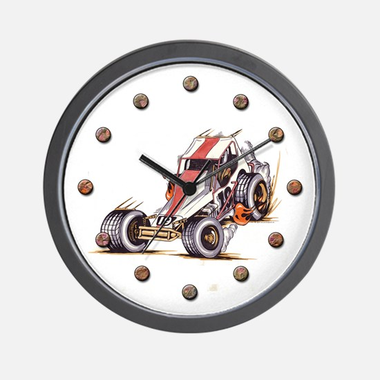 """Old Dirt 19"" Wall Clock"
