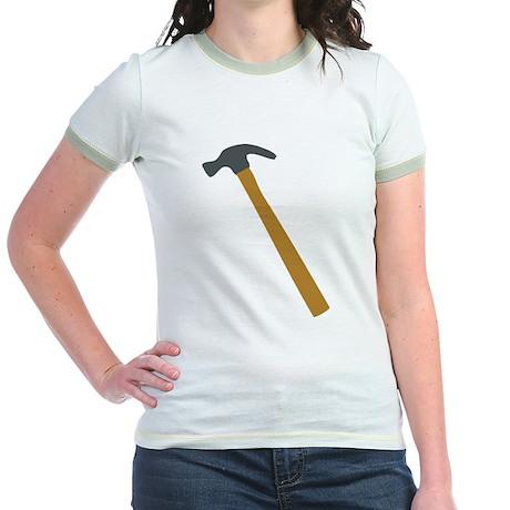 carpenter hammer Jr. Ringer T-Shirt