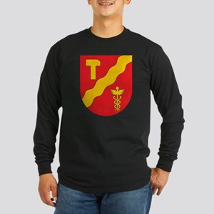 Tampere Coat of Arms Long Sleeve Dark T-Shirt
