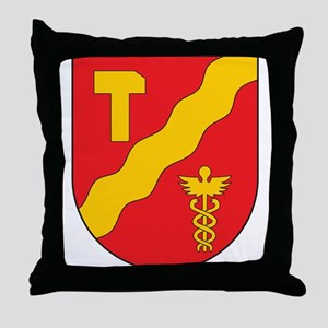 Tampere Coat of Arms Throw Pillow