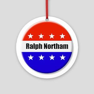 Ralph Northam Round Ornament