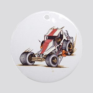 """""""Old Dirt 19"""" Ornament (Round)"""