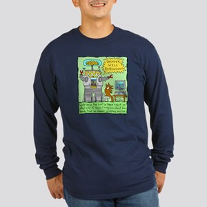 Wally buys the 'Lost in Space' robot Long Sleeve D