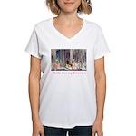 Twelve Dancing Princesses Women's V-Neck T-Shirt