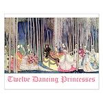 Twelve Dancing Princesses Small Poster