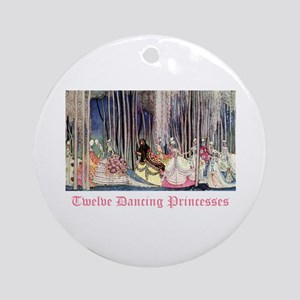 Twelve Dancing Princesses Ornament (Round)