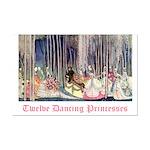 Twelve Dancing Princesses Mini Poster Print