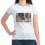 Twelve Dancing Princesses Jr. Ringer T-Shirt