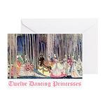 Twelve Dancing Princesses Greeting Cards (Pk of 10