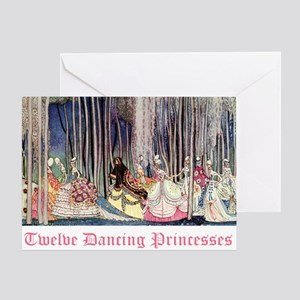 Twelve Dancing Princesses Greeting Card