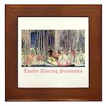 Twelve Dancing Princesses Framed Tile