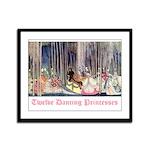Twelve Dancing Princesses Framed Panel Print