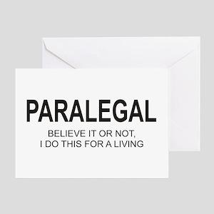 Paralegal Greeting Card