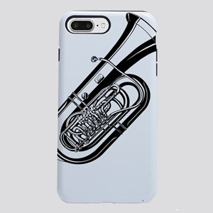 Musical instrument tuba d iPhone 7 Plus Tough Case