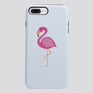 Pink Flamingo iPhone 7 Plus Tough Case