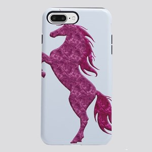 Pink Fire Unicorn iPhone 7 Plus Tough Case