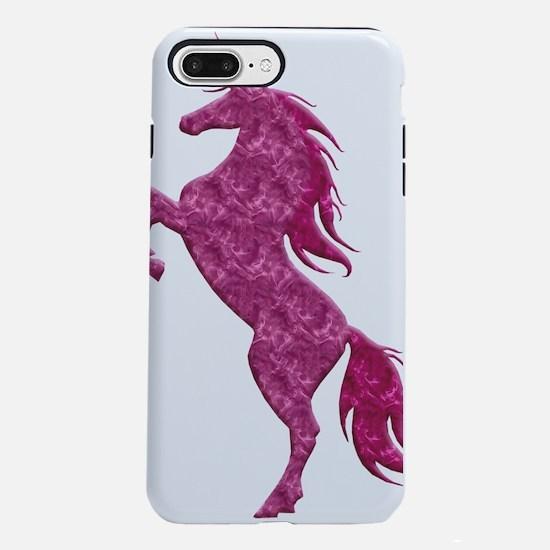 Pink Fire Unicorn iPhone 7 Plus Tough Case