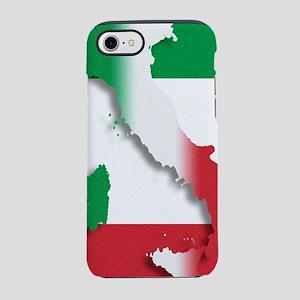 Italy Italian Flag iPhone 7 Tough Case