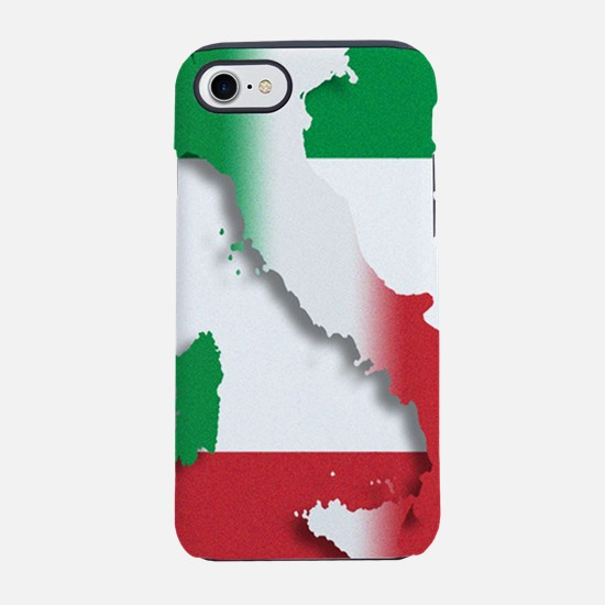 Italy Italian Flag iPhone 7 Tough Case