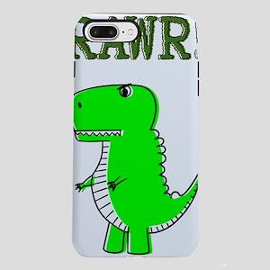 Cute Angry T-Rex RAWR iPhone 7 Plus Tough Case